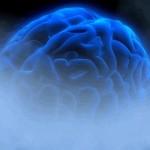 Photo illustrating brain fog