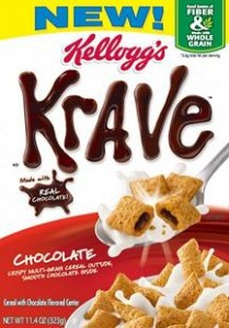Photo of a box of Kellogg's crave