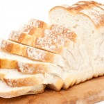 Photo of a loaf of white bread
