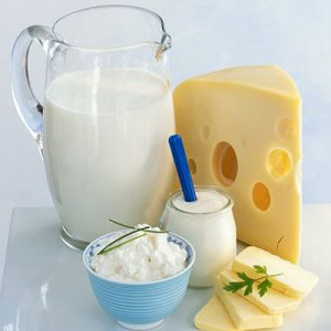 photo of healthy dairy products