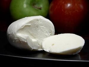 Photo of mozarella cheese