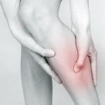 Photo illustrating leg cramp