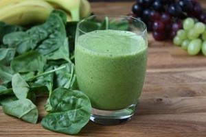 Photo of spinach juice