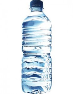 photo of bottled water
