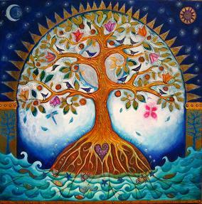 Illustration of the tree of abundance