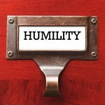 photo of a filing cabinet labelled humility