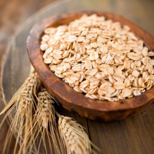 photo of a bowl of whole oats