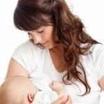 Photo of a mum breastfeeding