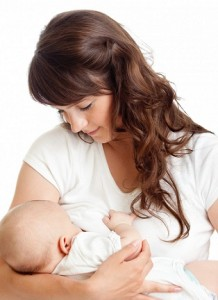 Photo of a mum breastfeeding
