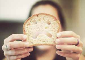 photo illustrating gluten sensitivity