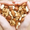 Photo of a handful of nuts