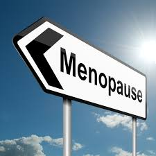 photo of a sign saying menopause