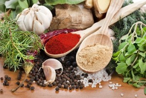 photo of various herbs and spices