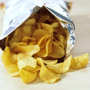 photo of a bag of crisps