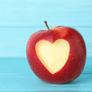 Organic apples contain more 'good' bacteria
