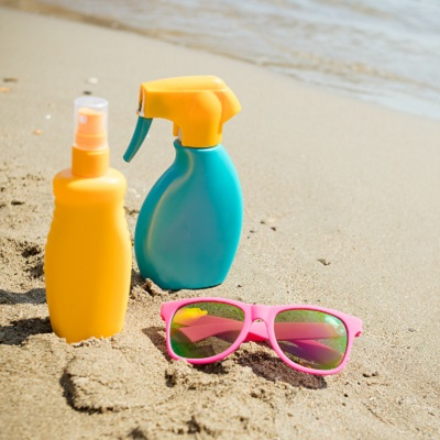 Sunscreen chemicals enter bloodstream after a single application